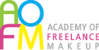 AOFM, The Academy of Freelance Makeup Logo