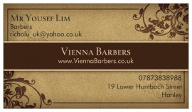 Vienna Barbers, Stoke-On-Trent